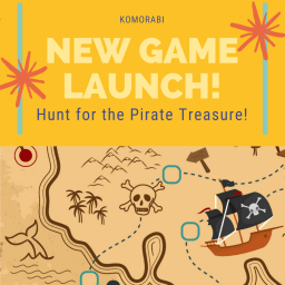 New free immersive game: Hunt for the Pirate Treasure!